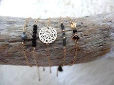 bracelet fin geometrique hexag