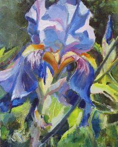 "Daily Paintworks - ""Summers Star"" - Original Fine Art for Sale - © Scarlet Owl Studio"
