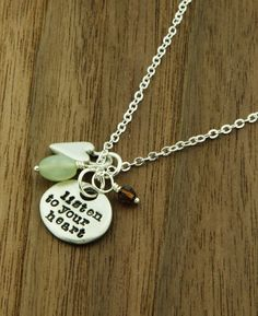 Listen to Your Heart Pendant