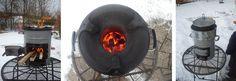 EcoZoom Versa Raketenofen. Auch für Winter bestens gerüstet. Wok, Winter, Winter Time, Woks