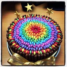Smartie cake! Simple but effective!