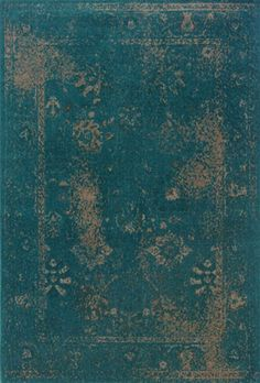 Oriental Weavers Revival RE3689 Teal Blue