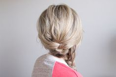 Soft Side French Braid
