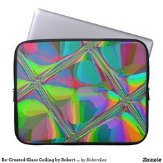 Re-Created Glass Ceiling by Robert S. Lee Laptop Sleeve  #Robert #Lee #art #Neoprene #Laptop #Sleeve #graphic #design #colors #sleeve #electronics #tech #laptop #mac #apple #girls #boys #men #women #ladies #style #for #her #him #gift #want #need #love #customizable