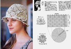 Very pretty hat Sunny, mercerised  12/8x4