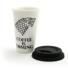 Game of Thrones Coffee Parody Eco Travel Mug
