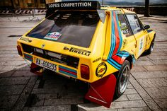 During a recent event, these rally cars were just begging to be captured in detail