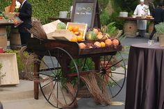 Vineyard Produce Cart #bydzign #props #vegasdecor #décor #partyrentals For more info/ideas visit www.by-dzign.com