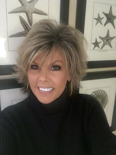 Sassy short hair for women over 50! Hairstyles for women over 45, Hairstyles for women over 50, Hairstyles for women over 55, Hairstyles for women over 60, Hairstyles for women over 65 (Kris Upright‎‎) #Hairstylesforwomenover45 #hairstylesforwomenover50 #Hairstylesforwomenover40 #Hairstyelsforwomenover60 #Hairstylesforwomenover55