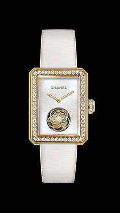 Chanel Premiere Flying Tourbillon with diamonds and yellow gold&hellip