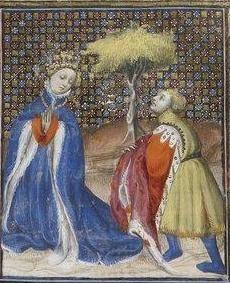Giovanni Boccaccio, De Claris mulieribus; Paris Bibliothèque nationale de France MSS Français 598; French; 1403, 121v. http://www.europeanaregia.eu/en/manuscripts/paris-bibliotheque-nationale-france-mss-francais-598/en