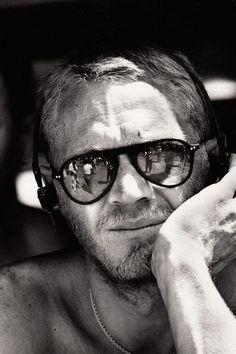 Steve McQueen, sunglasses