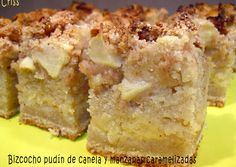 Bizcocho de canela y manzana caramelizada Cake Cookies, Cupcake Cakes, Yummy Treats, Yummy Food, Sweet Cooking, Food To Make, Sweet Tooth, Bakery, Food And Drink
