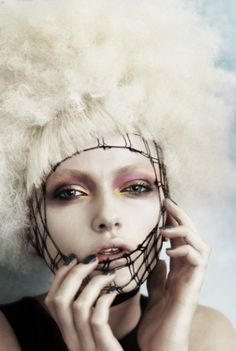 #hair #makeup | avant garde For #hairstyles, advice and ideas visit WWW.UKHAIRDRESSERS.COM