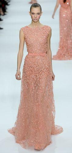 Elie Saab Spring 2012 Couture, Karlie Kloss.