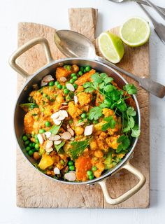 Eating your five-a-day has never been so easy, thanks to Sarah Tuck's spice-laden vegetable curry recipe.