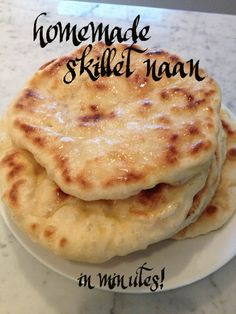 Skillet Made Naan: An Easy Recipe for an Indian Cuisine Staple.