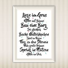 Liege im Gras … Typo Poster, Poster Wall, Poster Print, Psychological Science, Psychological Well Being, Learning Methods, Baby Growth, Toddler Development, Childhood Days