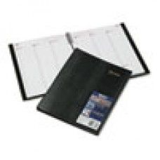 Desk Supplies> Desk Set / Conference Room Set >Organizers: CoilPRO Weekly Planner, Ruled, 8-1/2 x 11, Black, 2016