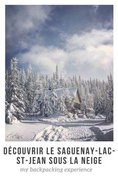 Les plaisirs de l'hiver québécois au Saguenay-Lac-Saint-Jean dans le cadre du défi hiver 2018 #pasfretteauQC #québec #saguenay #pleinair Lac Saint Jean, Plein Air, Hui, Jeans, Backpacking, Mount Everest, Snow, Mountains, Winter