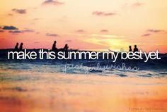 Make This Summer My Best Yet