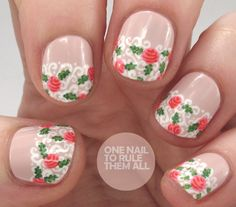 Barry M Lilac Roses Tutorial | One Nail To Rule Them All | Bloglovin'