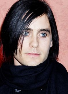 Jared Leto  -  Loved his Emo look!