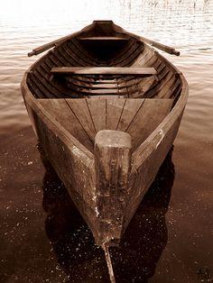 handmade Finnish boat