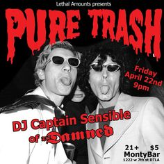 #Tonight! @sensiblecaptain set to crush it! #turnup #DTLA #puretrash presented by @lethalamounts