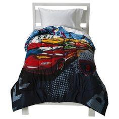 Disney® Cars Reversible Microfiber Comforter - Twin #Cars