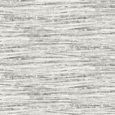 """York Wallcoverings Black and White Newsprint 27' x 27"""" Abstract Roll Wallpaper - For Office"""