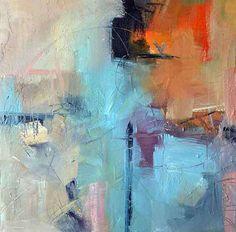 "Dusk by Filomena Booth Acrylic ~ 20"" x 20"""