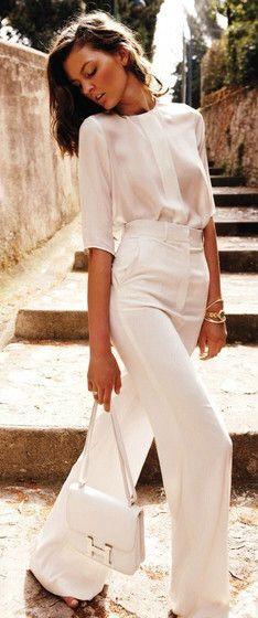 Pretty, all white.