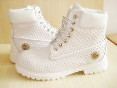 shoes timberland white timberlands timberlands fly shit dope cute tanish golden timberlands