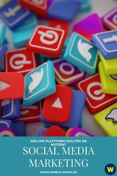 Es steht außer Frage, dass Social Media ein notwendiges Marketinginstrument für jedes Unternehmen ist, das in der heutigen geschäftigen Online-Welt relevant und sichtbar bleiben möchte. Weiter lesen!⬆️ Social Media Plattformen, Marketing, Social Media, Business, Reading, World