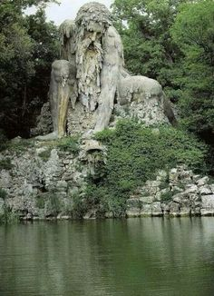 The Appenine Colossus - Florence Italy