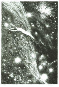 František+Kobliha+Cosmic+Vision,+1945-46.jpg (690×1005)