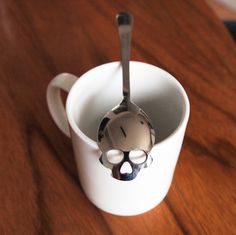 Sugar Skull Tea Spoon