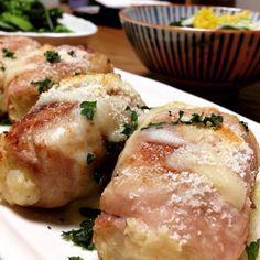 お腹いっぱいになります(๑• . •๑)♡ - 14件のもぐもぐ - ジャガイモと里芋の豚肉巻き by anniversary68
