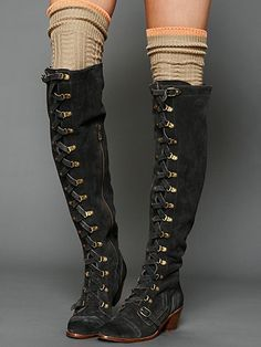 Knightley Thigh High - Hell yeah. These are badass.