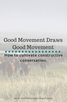 Good Movement Draws