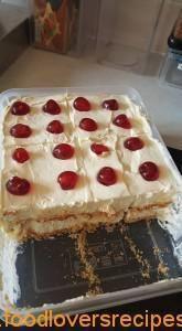 FRIDGE TART ALA JENNIFER Milk Recipes, Tart Recipes, Sweet Recipes, Baking Recipes, Pudding Recipes, Sweet Desserts, Delicious Desserts, Yummy Food, Easy Desserts