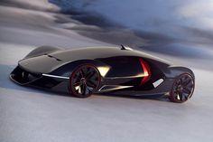 Tältä näyttää vuoden 2040 Ferrari