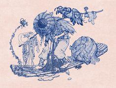 JAMES JEAN http://www.widewalls.ch/artist/james-jean/ #fine #art