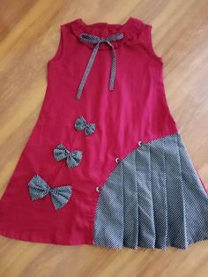 Girls Dresses Sewing, Stylish Dresses For Girls, Stylish Dress Designs, Little Girl Dresses, Baby Girl Frocks, Frocks For Girls, Kids Frocks Design, Baby Frocks Designs, Baby Girl Frock Design