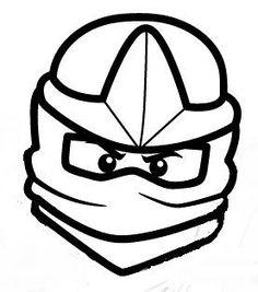 coloriage et dessin de ninjago à imprimer - coloriage ninja vert lloyd | coloriage ninjago