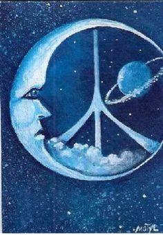 Celestial Peace sign!