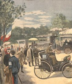 Concours des voitures sans chevaux organisé par Le Petit Journal