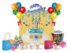 """""""Happy SEPTEMBER Birthdays - The PARTY is Here, Sweet Friends !!"""" by fashiongirl-26 ❤ liked on Polyvore featuring art"""