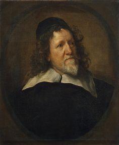 Dyck Anthony van - Portrait of Inigo Jones - GJ-557 | da Faces of Ancient Europe